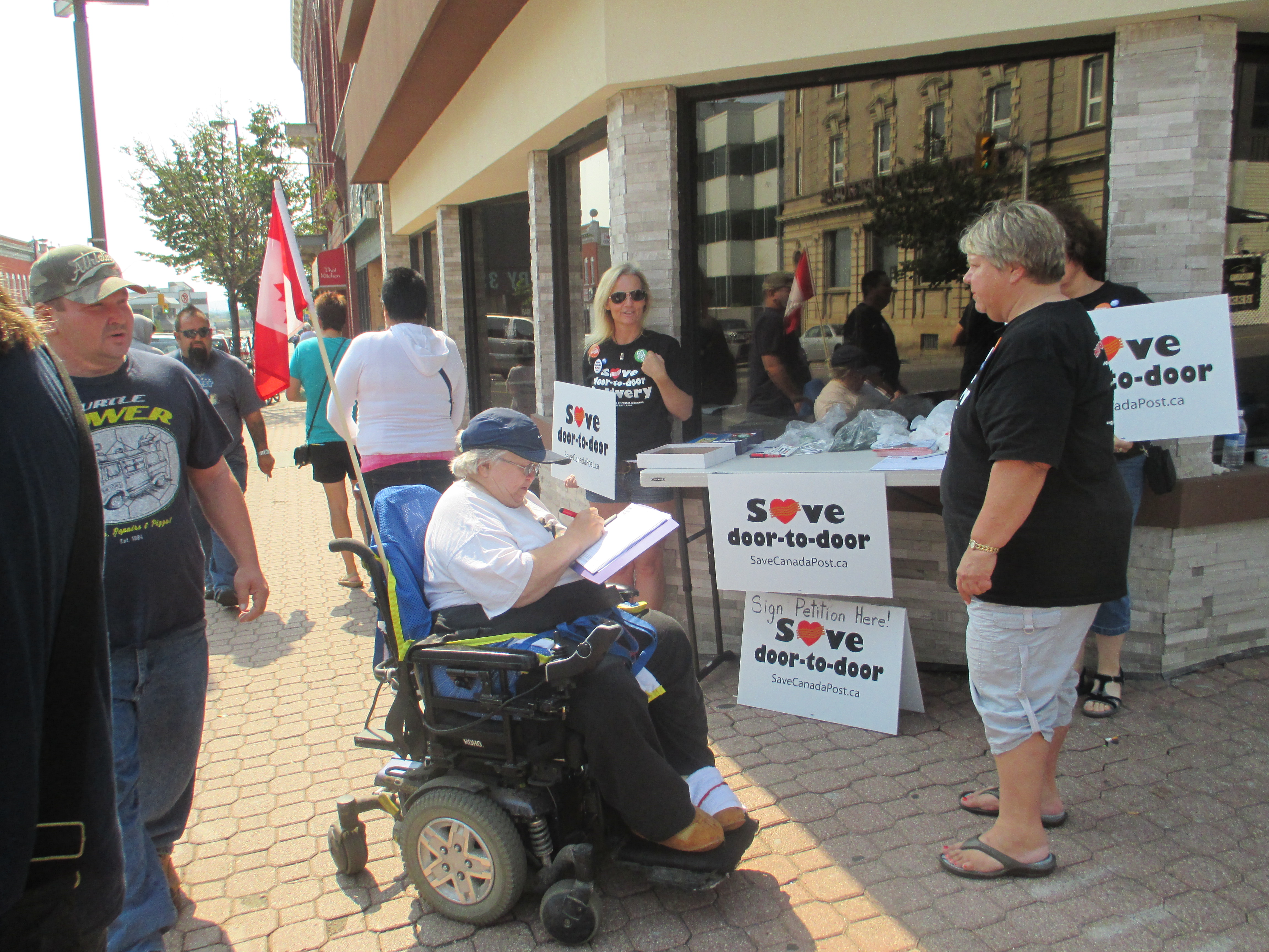 Public support in Thunder Bay