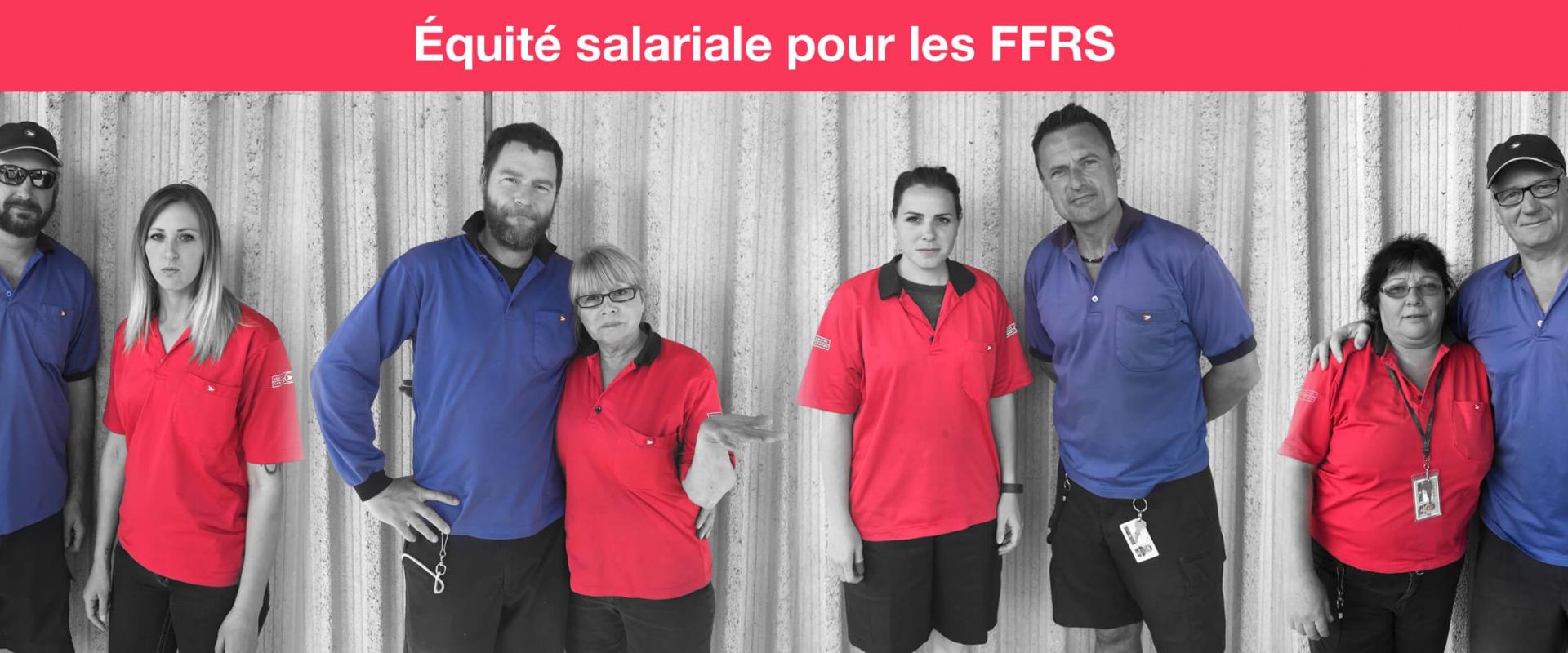 Équité salariale pour les FFRS