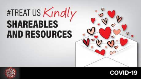 #TreatUsKindly Shareables and Resources