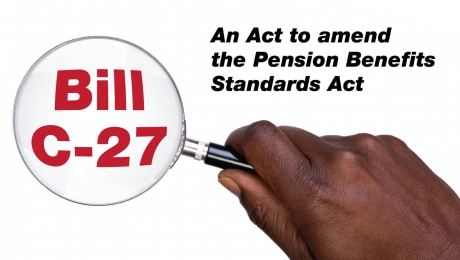 Bill C-27: An Act to amend the Pension Benefits  Standards Act
