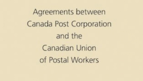 Agreement between Canada Post Corporation and the Canadian Union of Postal Workers (Urban Postal Operations)