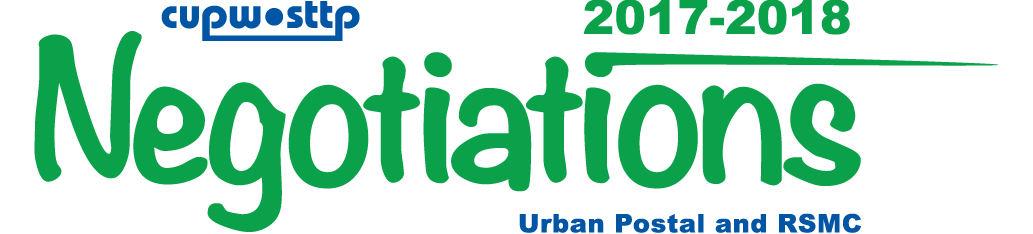 Urban and RSMC Negotiations 2017-2018